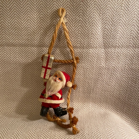 Vintage 60's Santa Claus Decoration